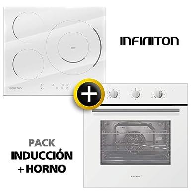 Pack Horno + VITROCERAMICA INFINITON (Placa Encimera mas Horno ...