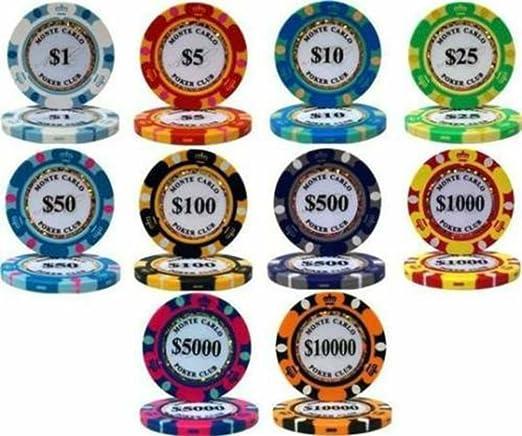 NEW 600 PC Showdown 13.5 Gram Clay Poker Chips Aluminum Case Set Pick Your Chips