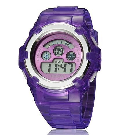 Relojes de Hombre Reloj electrónico Impermeable para Hombre de ...