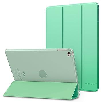 MoKo Funda para iPad Air 2 - Ultra Slim Función de Soporte Protectora Plegable Smart Cover Trasera Transparente Durable para Apple iPad Air 2 9.7 ...