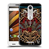 Head Case Designs Shogun Japanese Devil Mask Hard Back Case for Motorola Moto X Play