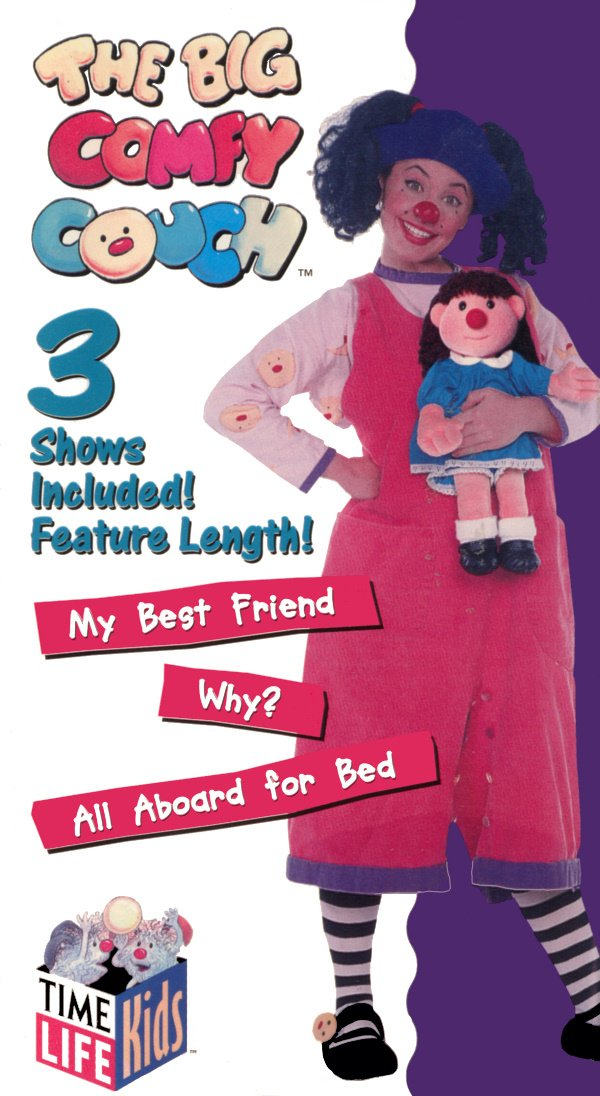 Amazoncom The Big Comfy Couch My Best Friendwhyall Aboard For