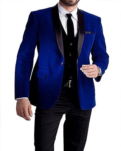 Amazon.com: pretygirl hombre traje dos piezas Novio Tuxedos ...