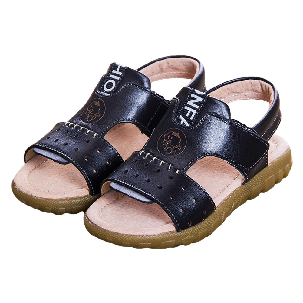 Tortor 1Bacha Kid Boy Girl Leather Open Toe Outdoor Sandals Toddler//Little Kid