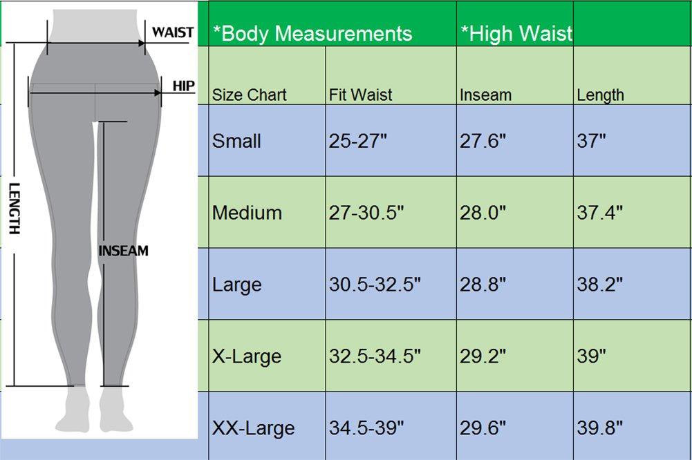 Neleus Tummy Control High Waist Running Workout Leggings,9017,One Piece,Black,S,EU M by Neleus (Image #5)