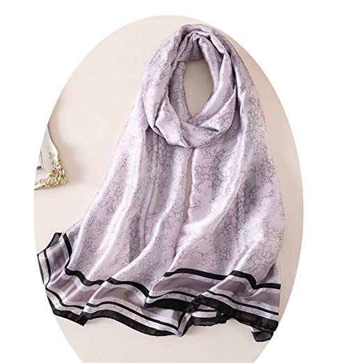 YoungG-3D Summer Women Scarf Soft Silk Scarves Female Shawls
