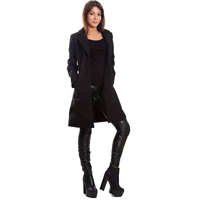 sports shoes 9f526 daf48 Toocool - Cappotto Donna Monopetto Giaccone Caldo Giacca ...