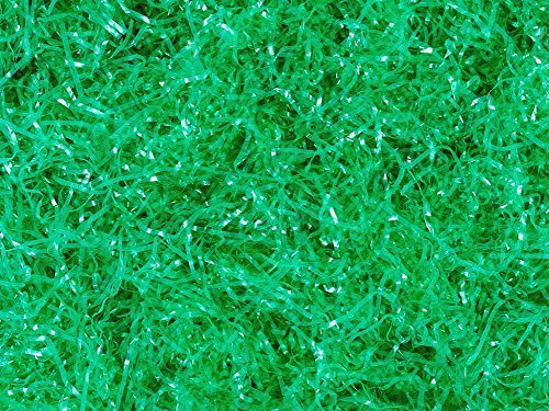 GREEN EASTER GRASS (1 DOZEN) - BULK (Easter Green Grass)