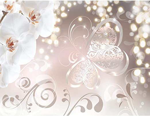 Runa Tapeten 9129010a Fototapete Blumen 3D Rose Grau Vlies Wand Tapete Wohnzimmer Schlafzimmer B/üro Flur Dekoration Wandbilder XXL Moderne Wanddeko Flower 100/% MADE IN GERMANY