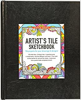 studio series artists tile sketchbook tile art