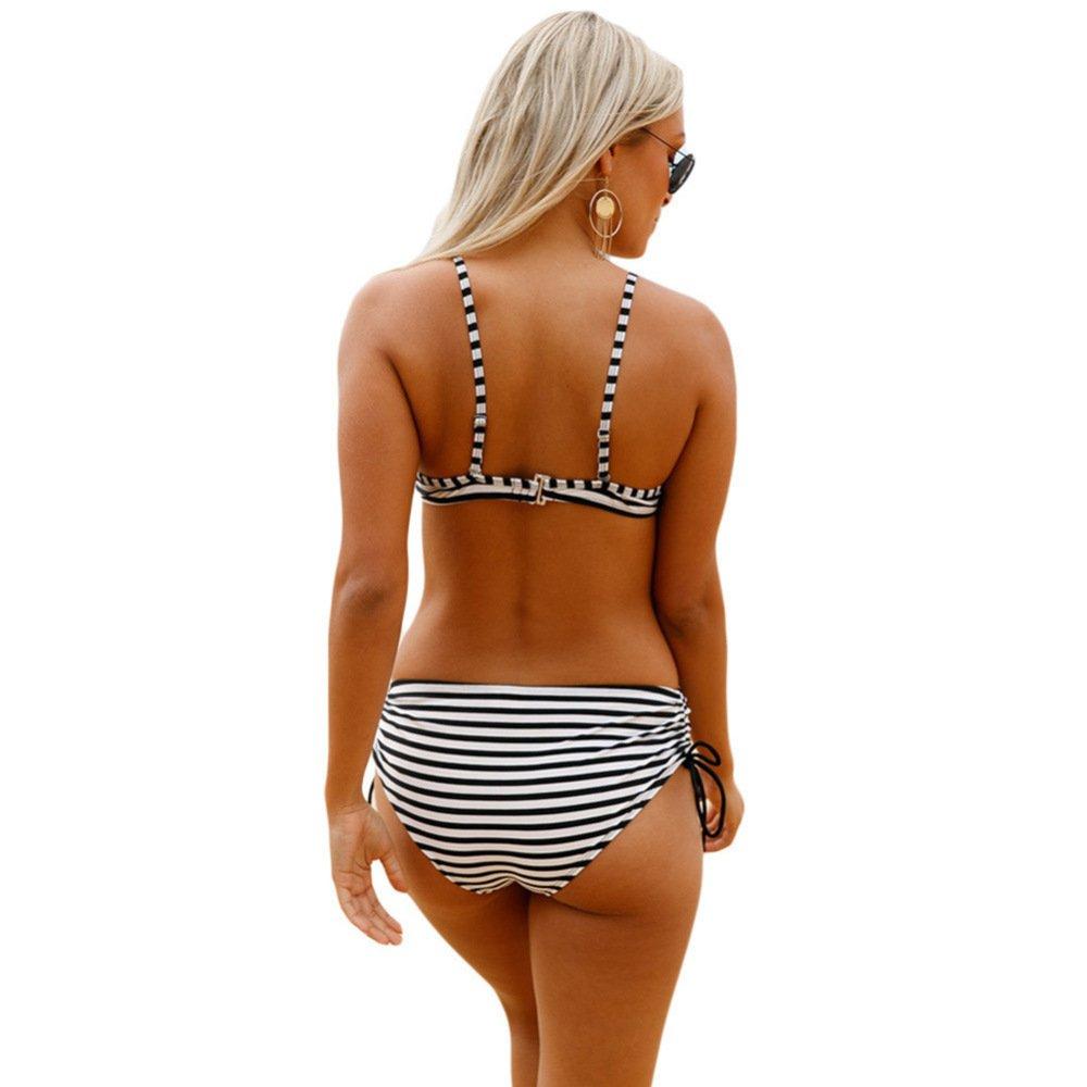 Mai Dou Bikini Surf Badeanzug Badeanzug Badeanzug Simple Swimwear Schnell Trocknender Badeanzug Unterwäsche Drei-Punkt-Badeanzug B07D25PW19 Bikini-Sets Der neueste Stil 2543d4