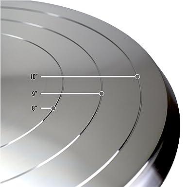 Amazon.com: Aluminio Pastel soporte giratorio – 12 inches ...