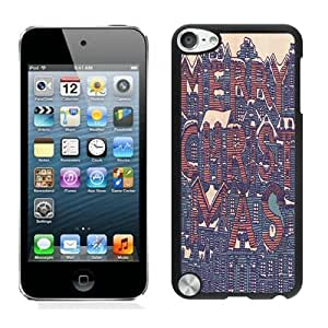 2014 New Style Merry Christmas Black iPod Touch 5 Case 19