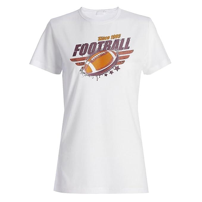 fútbol americano vintage camiseta de las mujeres u364f: Amazon.es: Ropa y accesorios