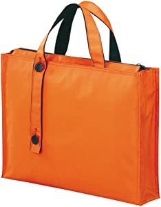 LIHIT LAB Carrying Bag, 11.8 x 15.7 Inches, Orange (A7651-4)