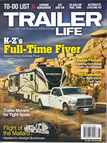 Price comparison product image Trailer Life Magazine,  May 2017 (Vol. 77,  Issue 5)