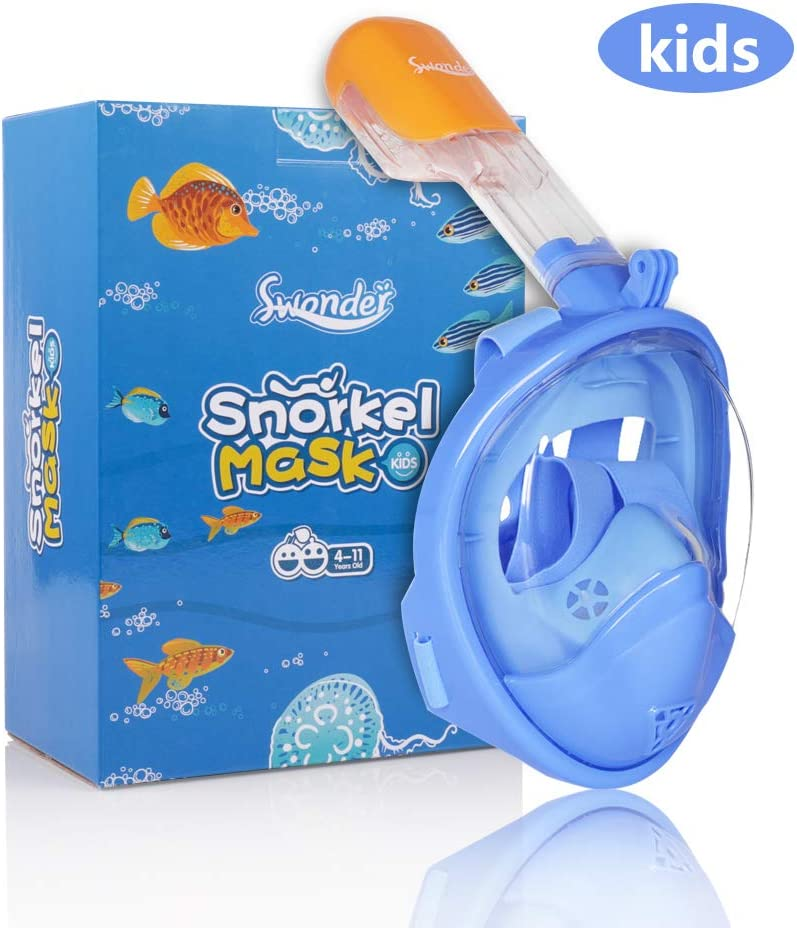 Swonder Full Face Snorkel Mask