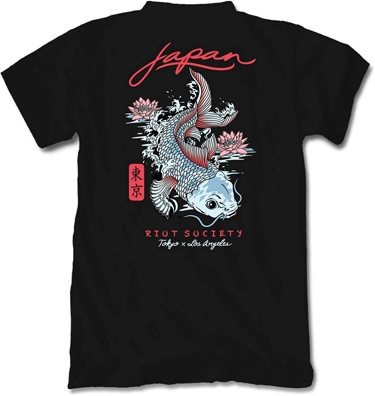Riot Society Men's Short Sleeve Graphic Fashion T-Shirt