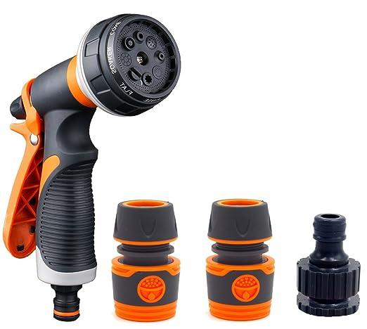 TJW tubo da giardino ugello spruzzatore Gun heavy duty ottone spruzzatore ad alta pressione ugello spruzzatore per autolavaggio//Annaffiatore//pulizia
