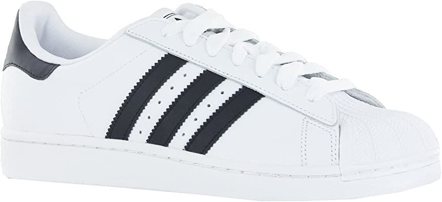 medio Consulta molécula  Adidas Superstar 2 White Black Mens Trainers Size 7 UK: Amazon.co.uk: Shoes  & Bags