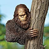 Design Toscano Bigfoot the Bashful Yeti Tree Garden Statue, Wrought Iron, Resin, Medium