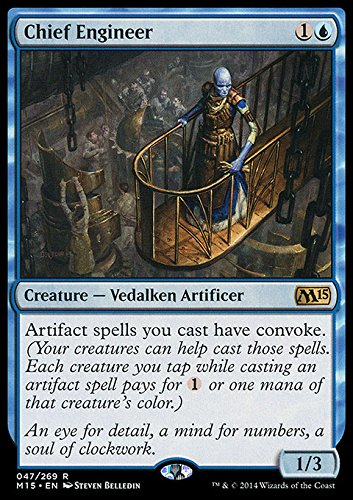 Magic: the Gathering - Chief Engineer (047/269) - Magic 2015