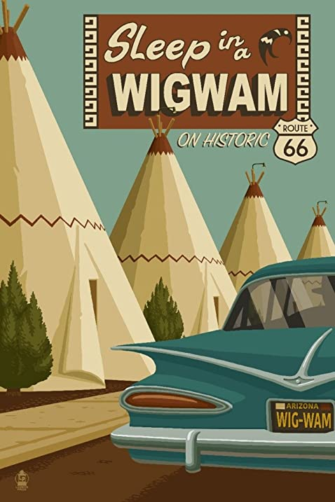 Amazon.com: Holbrook, Arizona - Route 66 - Wigwam Village Motel ...