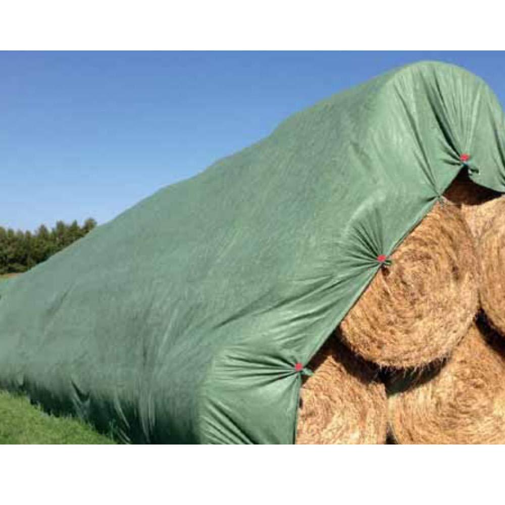 KLASEBO Strohvlies Schutzvlies Strohballenschutz Heuvlies Kompostvlies