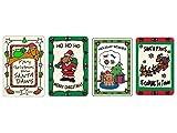 Crunchkins Edible Christmas (Rawhide) Cards for