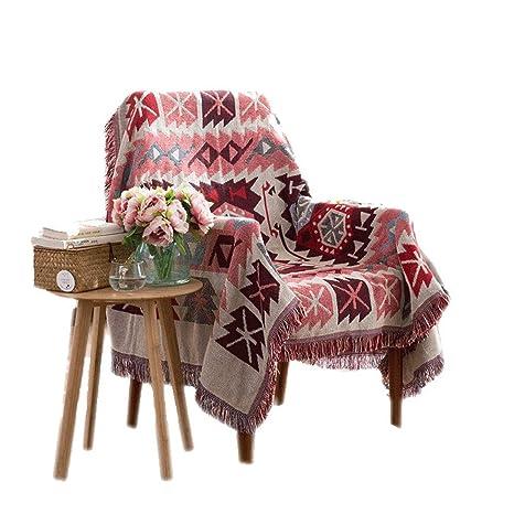 Zhanghanzong-Belt Manta cálida sobre sofá Cama Funda de casa ...