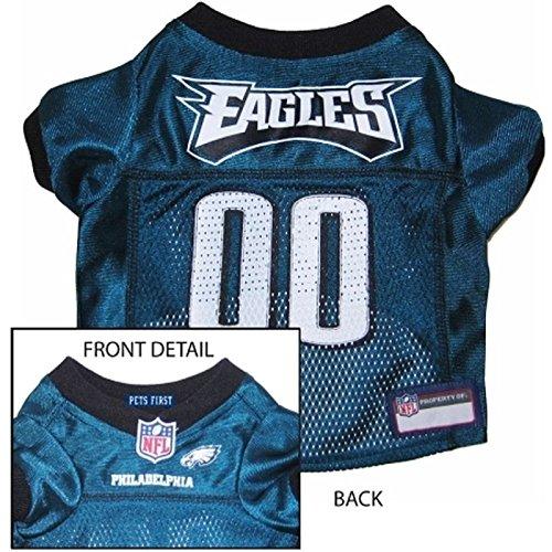 Pets First Philadelphia Eagles Dog Mesh Jersey Licensed NFL (Medium)