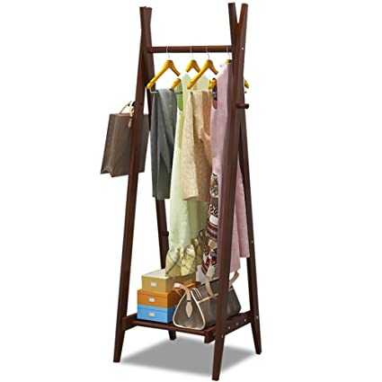 Amazon.com: QiangDa-yimaojia QIANGDA Coat Hat Floor Standing ...