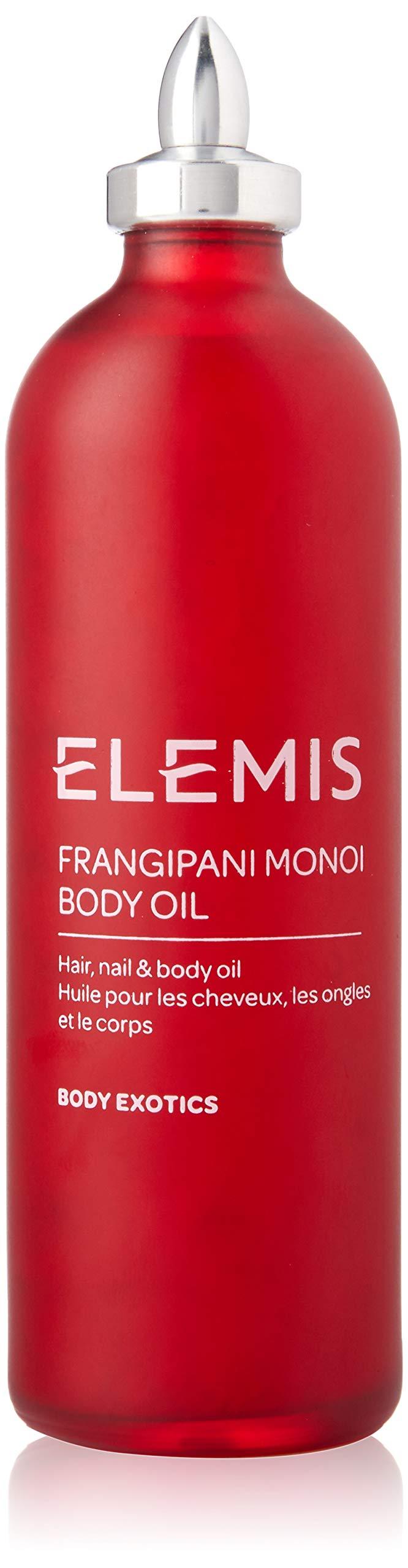 ELEMIS Frangipani Monoi Body Oil - Hair, Nail, and Body Oil, 3.3 fl. oz.