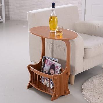 SUBBYE Wohnzimmer Schlafzimmer Nachttisch Nordic Runde Couchtisch Einfache  Mini Sofa Ecke Kabinett Farbe Optional ( Farbe