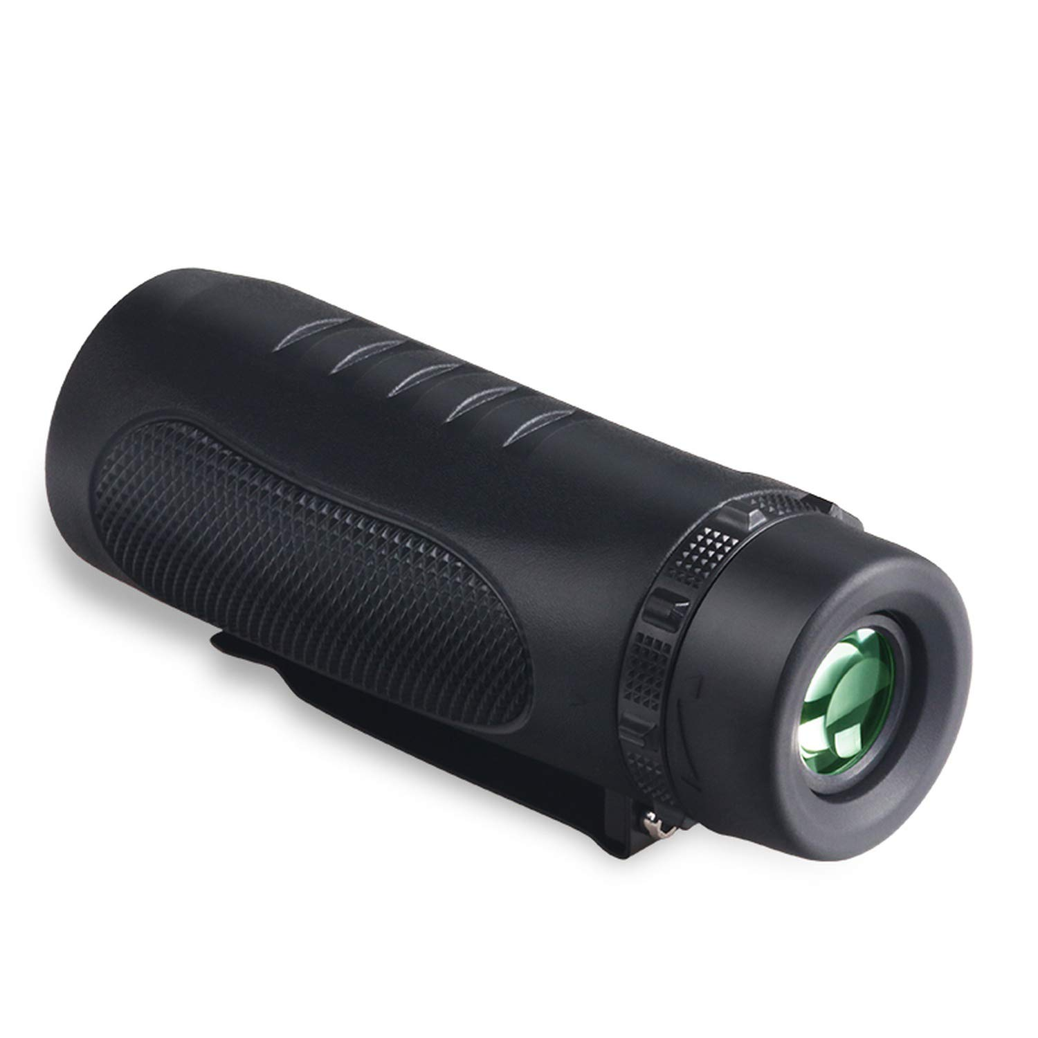 Crystal-heart-store 10X32 Powerful Multi-Coated Nautical Waterproof Monocular Prism Telescope with Clip Spotting Scope by Crystal-heart-store