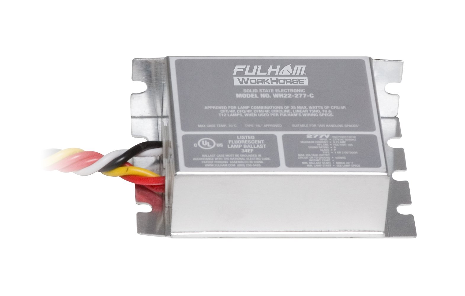 Fulham WH22-277-C Workhorse Adaptable Ballast
