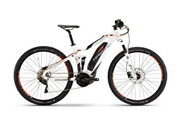 "HAIBIKE Sduro FullNine 6.0 - Bicicleta eléctrica - 29"" blanco Tamaño del cuadro 55 cm"