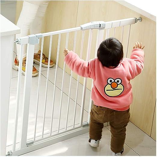 Puerta De Bebé Puerta Del Bebé Mascota Perro Escalera Puerta De La Barandilla Valla Escalera Del Bebé Barrera De Protección Resistente A Los Golpes Puerta De Aislamiento De La Valla Del Niño: