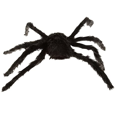 Hot Sale Novelty Toy 100 Pcs Black Plastic Black Spider Trick Toy Party Halloween Haunted House Prop Decor Carefully Selected Materials Gags & Practical Jokes Novelty & Gag Toys