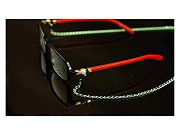 Fournitures pour la maison Lunettes de mode accessoires métal Sunglass  chaîne lunettes longe Spectacles chaîne vert 7061b75e7d20
