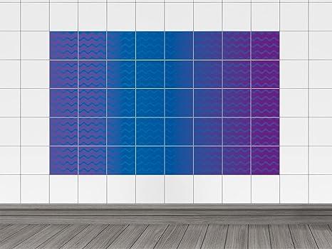 Piastrelle immagini piastrelle adesivo per bagno onde modello onde