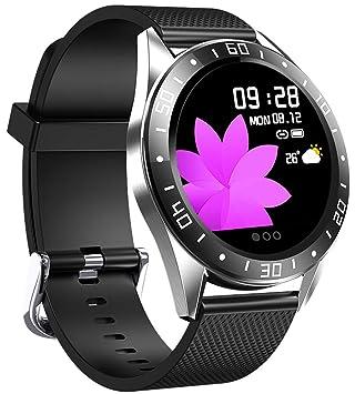 jpantech Smartwatch Reloj Inteligente Actividad con Pulsómetro ...