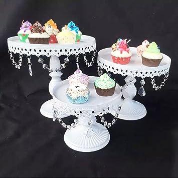 3 Bandejas para tartas Kit de soporte para pastel de boda ...