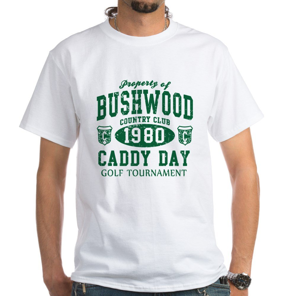 9c130cf937957 CafePress - Caddyshack Bushwood Country Club Caddy Day T-Shirt - 100%  Cotton T