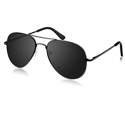940db0a53b Amazon.com  1 Pair Elimoons Polarized Aviator Sunglasses for Men and ...