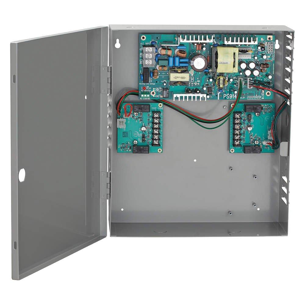 Von Duprin ps914 – 4rl-fa電源供給W/4リレーロジックボード& Fire Alarm   B00788L69G