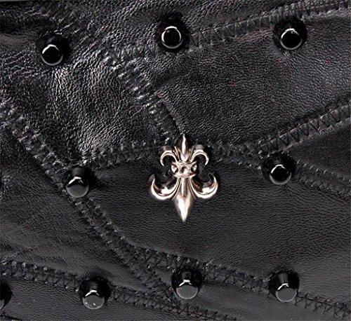 Fashion Mouton Unique Cross de NVBAO en Motif Couture Femmes bandoulière Package à Diagonal Peau Sac Rivet wxxzqI7