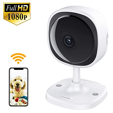 Security & Protection Baby Monitors Capable 1080p Hd Network Camera Two-way Audio Wireless Network Camera Night Vision Motion Detection Camera Robot Pet Baby Monitor