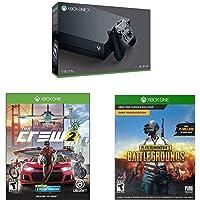 Xbox One X 1TB Console - PLAYERUNKNOWN'S BATTLEGROUNDS Bundle [Digital Code] + The Crew 2