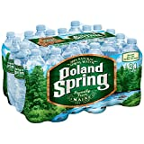 POLAND SPRING 100% Natural Spring Water, 16.9-ounce plastic bottles (Pack of 24)